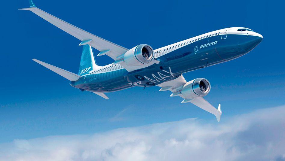 Boeing 737 Max (Archivbild): Boeing verliert einen Auftrag über 75 Maschinen