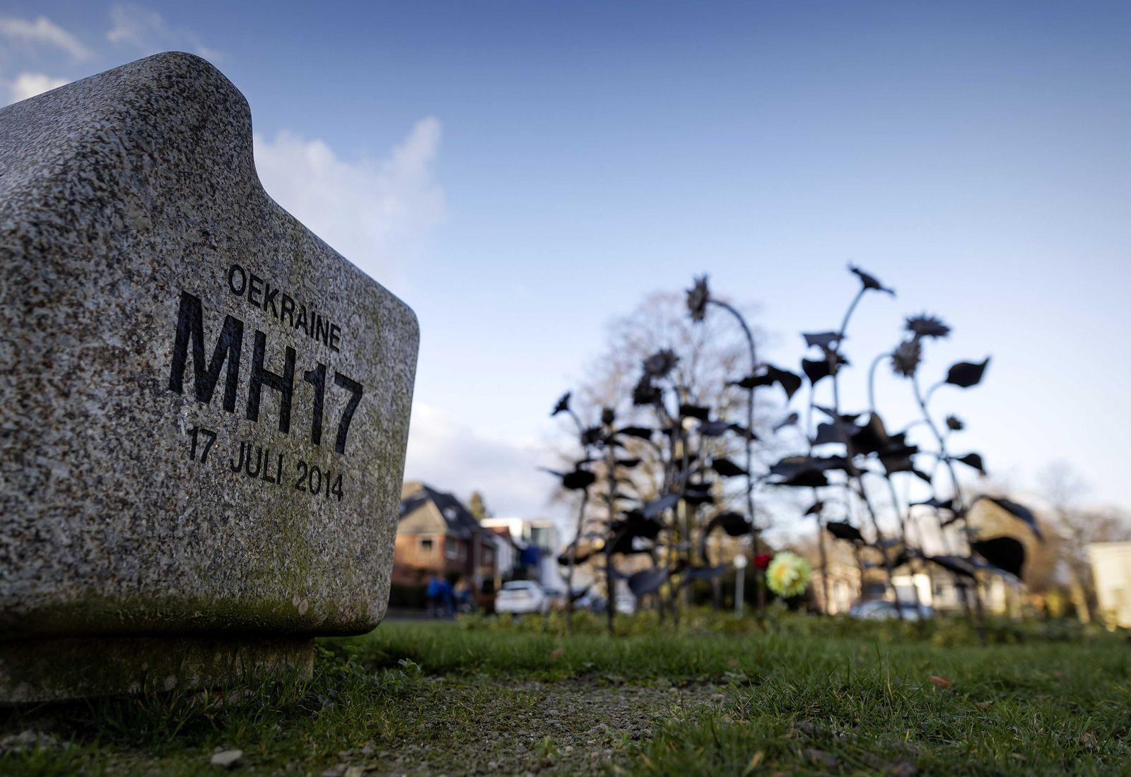 Before MH17 trial, Hilversum, Netherlands - 12 Feb 2020