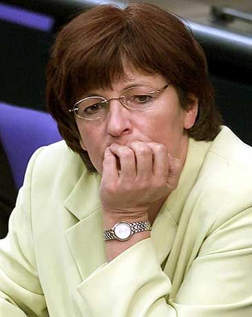 Gesundheitsministerin Schmidt: Den Kostenschub selbst verursacht