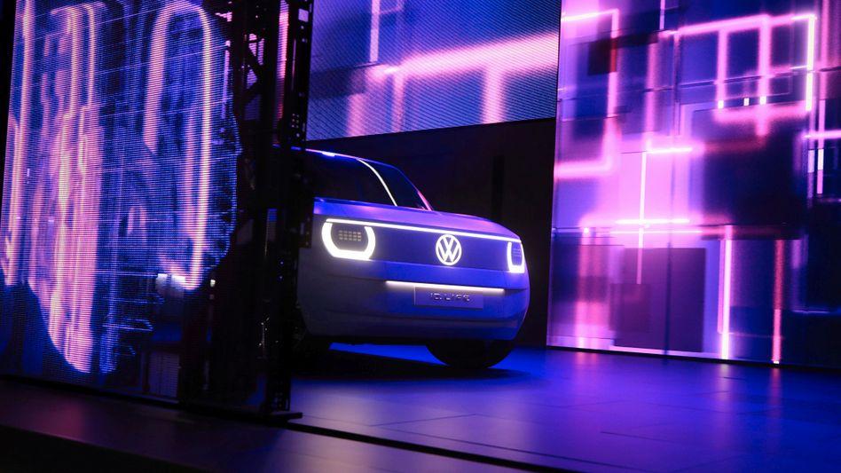 VW-Präsentation in München