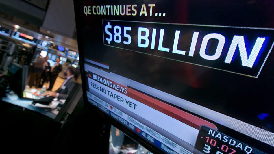 Wall Street: Händler erwarten Eindämmen der Geldflut ab März 2014