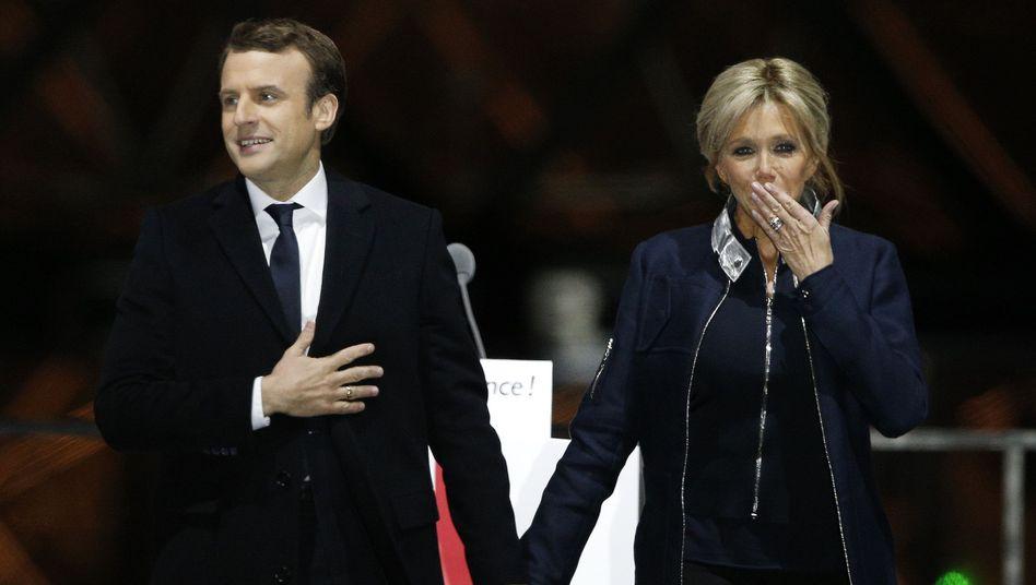 """Frankreichs Wahlsieger Macron: """"Ich werde die Republik verteidigen"""""""
