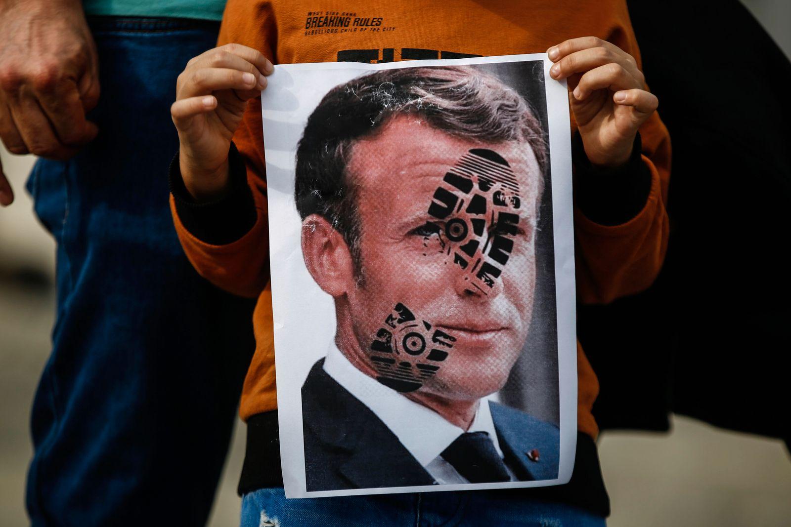 Turkey France Protest