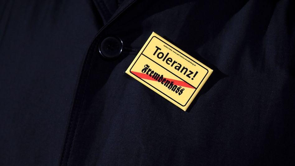 Sticker für Toleranz
