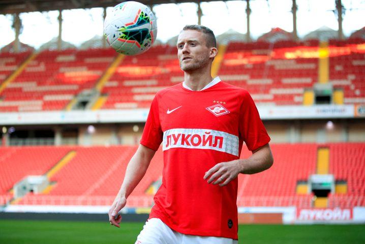 Wartet auf den Re-Start: André Schürrle von Spartak Moskau (Archivfoto)