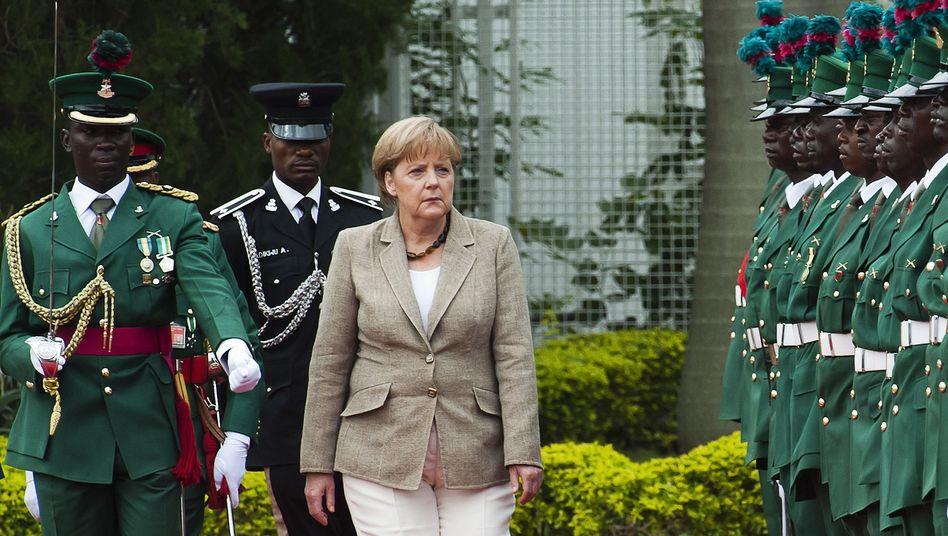 Bundeskanzlerin Merkel in Nigeria: Ein Signal senden