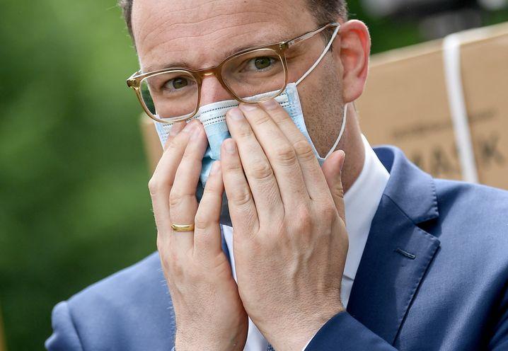 Bundesgesundheitsminister Jens Spahn mit Maske (Archivfoto)