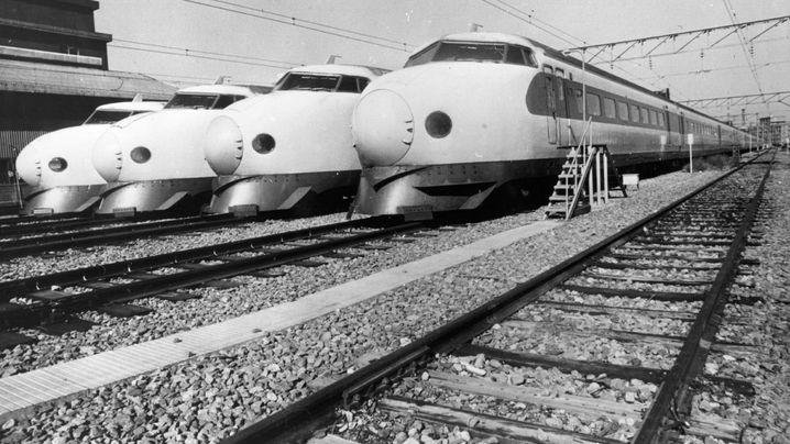 Hochgeschwindigkeitszug Shinkansen: Abgefahren!