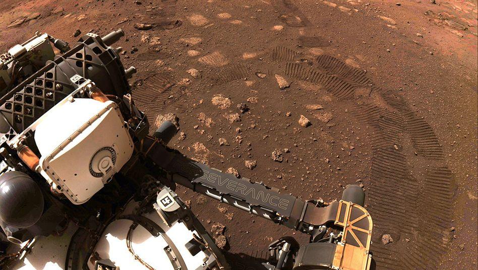 Rover »Perseverance« auf dem Mars