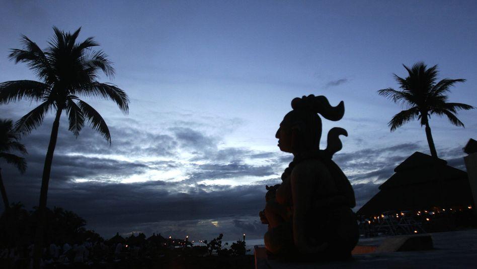 Maya-Statue in Mexiko: Kein Maya hätte je mit dem Untergang der Welt gerechnet