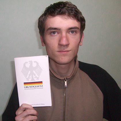 """Totalverweigerer Alexander: """"Wehrpflicht ist verfassungswidrig"""""""