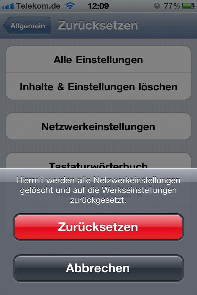 iOS: Unbedingt alle unsicheren W-Lan-Netze löschen
