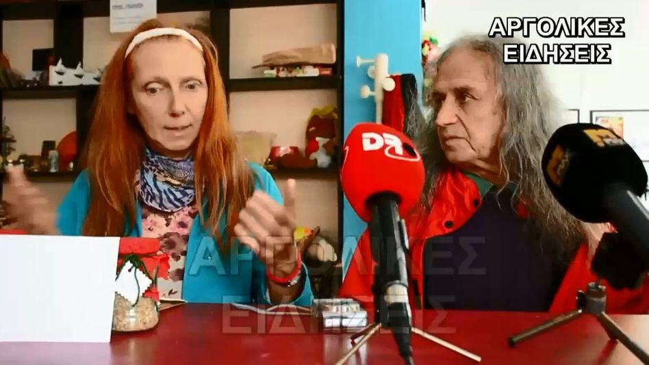 Motiv aus YouTube-Video: Nina Lange und Ludwig Zaccaro in Griechenland