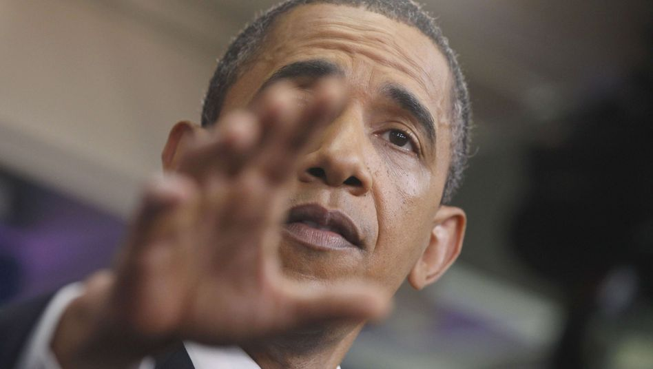 Grasping for a solution: Obama is making little progress on the debt-ceiling dispute.