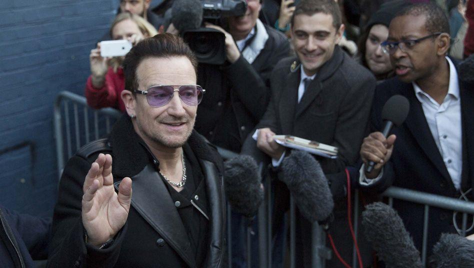 U2-Sänger Bono (vor seinem Unfall): mehrere Knochenbrüche