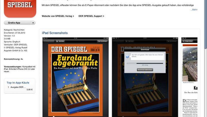 DER SPIEGEL auf dem iPad: So funktioniert die App