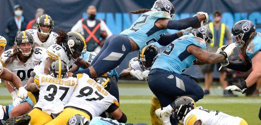 NFL: Aufholjagd der Tennessee Titans endet 14 Sekunden vor dem Ende