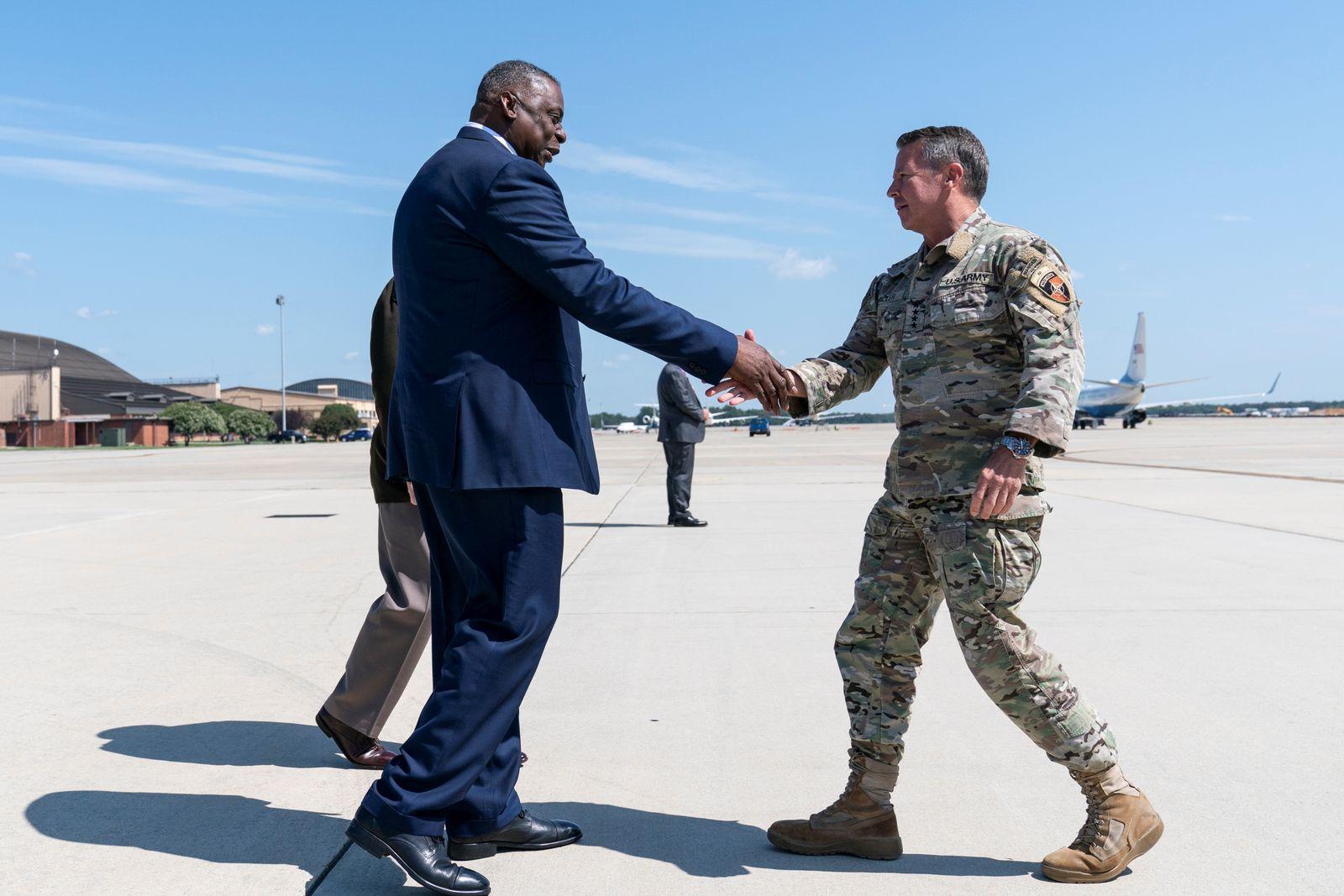 General Miller's return from Afghanistan