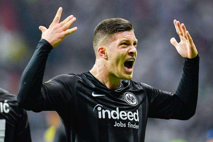 Luka Jovic im Eintracht-Trikot
