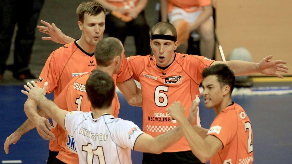 Spieler der BR Volleys: Champions League als finanzieller Aufwand