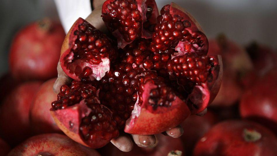Granatapfel: Die Frucht soll besondere Heilkräfte besitzen