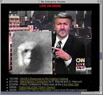 Richard C. Hoagland: Prominentester menschlicher Experte für Alien-Artefakte in diesem Sonnensystem