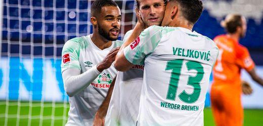 Fußball-Bundesliga: Werder Bremen gewinnt bei Schalke 04 - dank Niclas Füllkrug