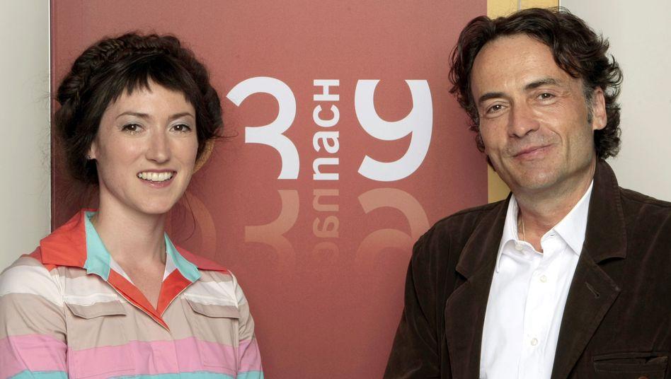 """Charlotte Roche und Giovanni di Lorenzo: Schnelles Aus für das """"3 nach 9""""-Duo"""
