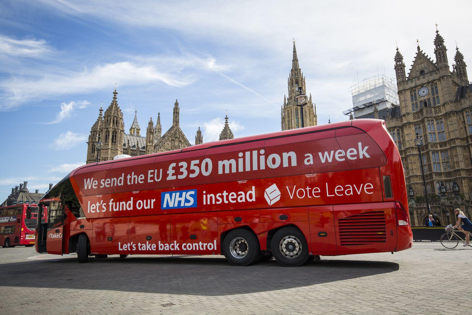 Boris Johnson Brexit Wahlkampf