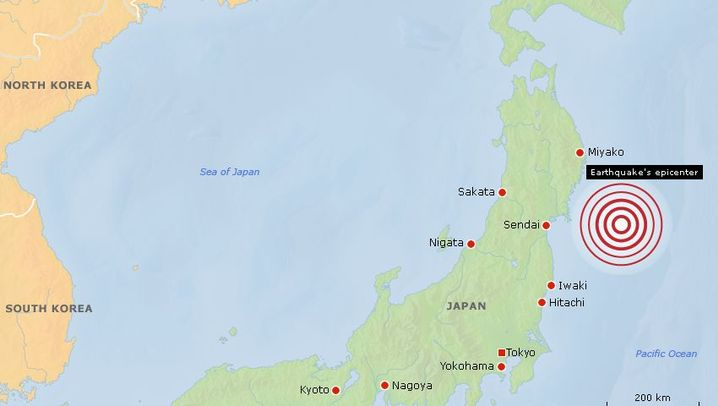 Photo Gallery: The Earthquake and Tsunami in Maps
