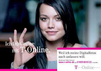 """T-Online-Anzeige mit Cosma Shiva Hagen: """"Wenn der richtige Zeitpunkt kommt"""""""