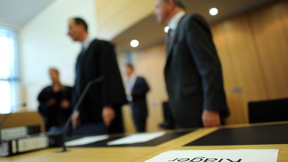 Rechtsstreit: Teure Anwaltskosten drohen