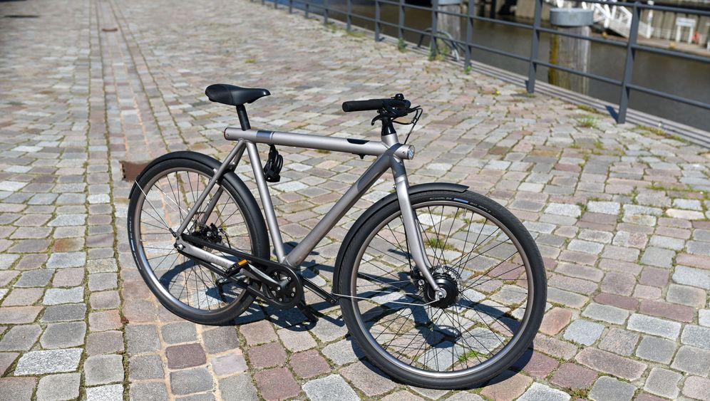 Pedelec Vanmoof Electrified S: Gut getarnt