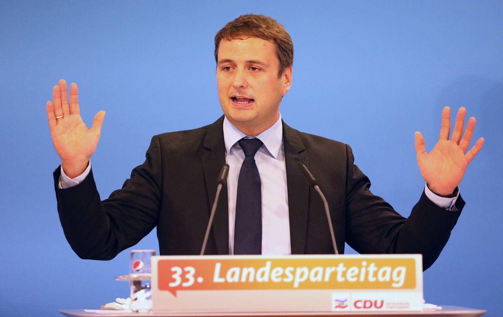 Junge CDU-Politiker/ Kokert