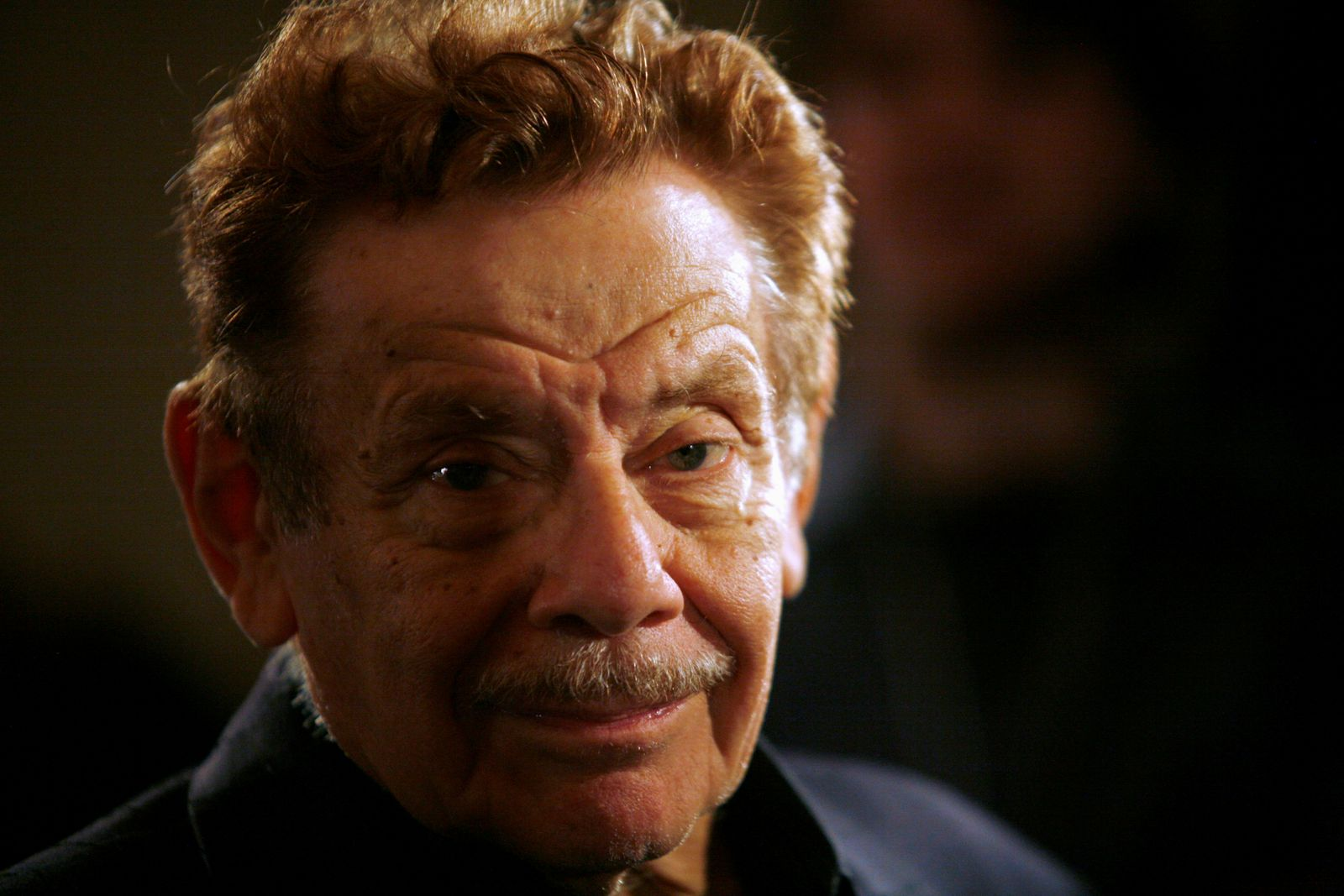 FILE PHOTO: Actor Jerry Stiller arrives at the American Museum of Natural History for the premiere of the movie Night at the Museum in New York