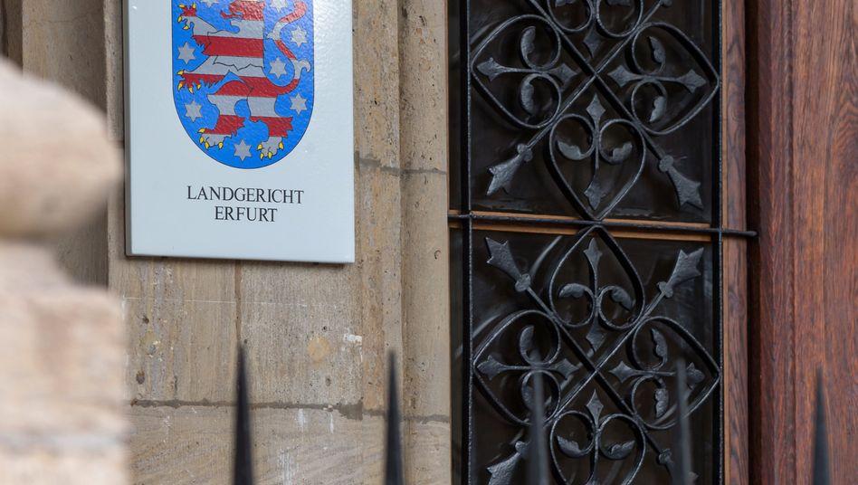 Das Landgericht in Erfurt (Archivbild)