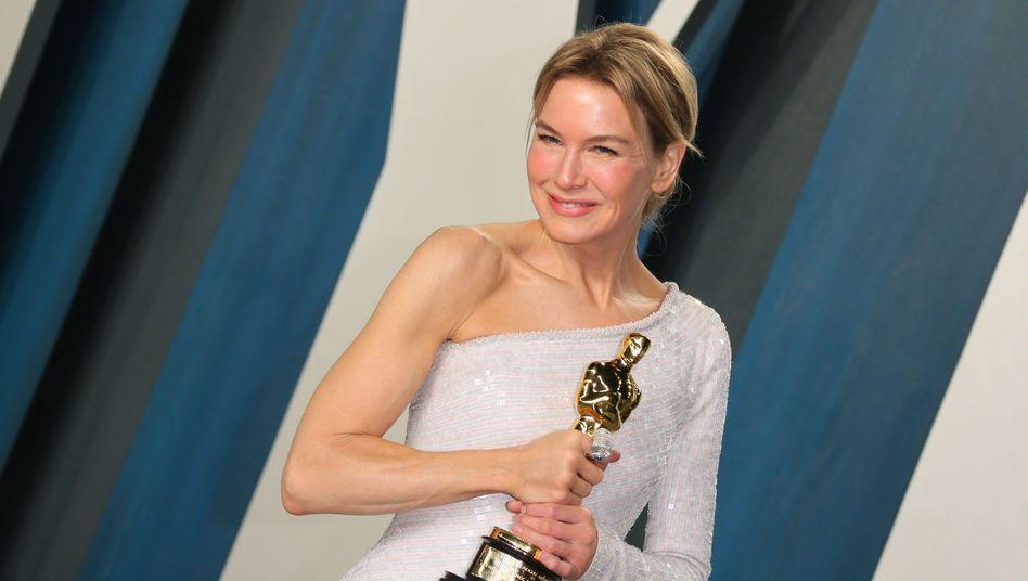 """Renée Zellweger ist bei den Oscars für ihre Rolle in """"Judy"""" ausgezeichnet worden"""