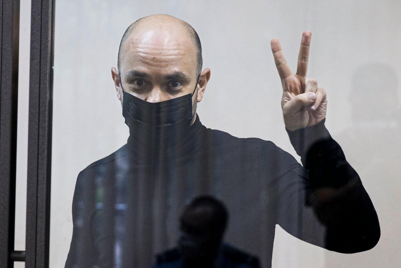 Russischer Oppositioneller Piwowarow in Haft
