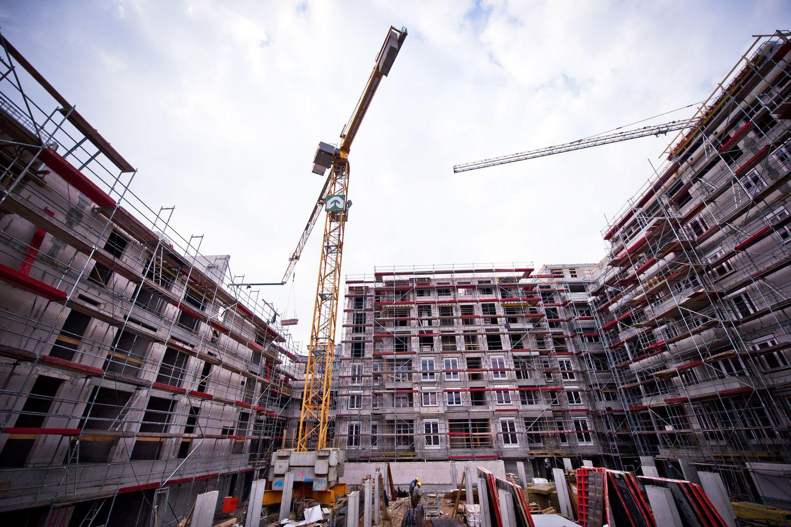 Wohnungsbau / Immobilien / Immobilien-Boom / Wohnungen