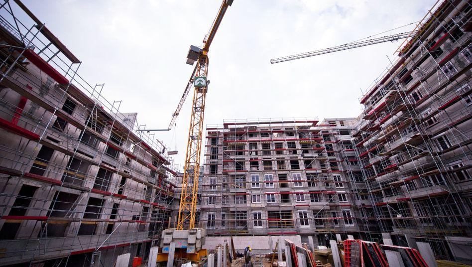 Neubaukomplex in Berlin