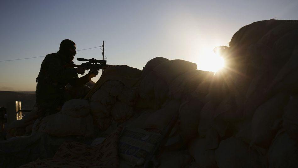 Peschmerga-Kämpfer im Nordirak (Archiv): Kampf gegen den IS