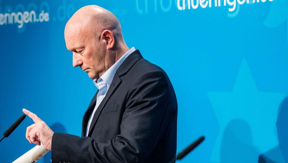 Thomas Kemmerich im Thüringer Landtag: Ministerpräsident mit kurzer Amtszeit