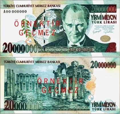 Türkischer 20-Millionen-Lira-Schein: Wie stabil ist das Land?