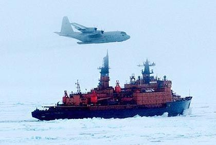 A Russia icebreaker in the Arctic Ocean: Moscow has unveiled aggressive new plans to exploit the Arctic's natural resources.