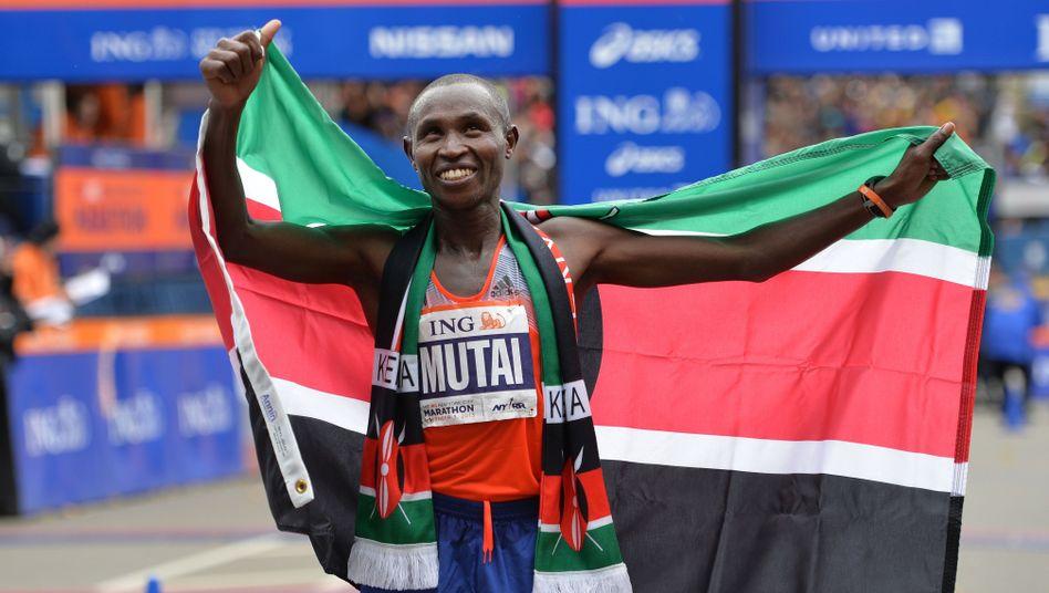 """Kenianer Mutai: """"Den Titel zu verteidigen, ist alles andere als einfach"""""""