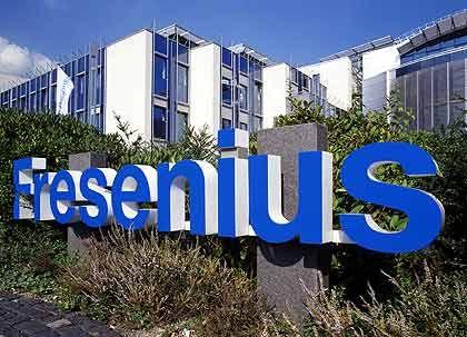 Fresenius-Zentrale in Bad Homburg: Börse findet Kauf zu teuer