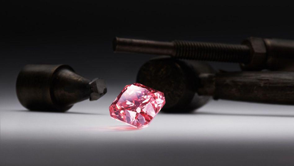Diamant Argyle Dauphine (2.51 Karat): Rekordnachfrage nach pinkfarbenden Edelsteinen