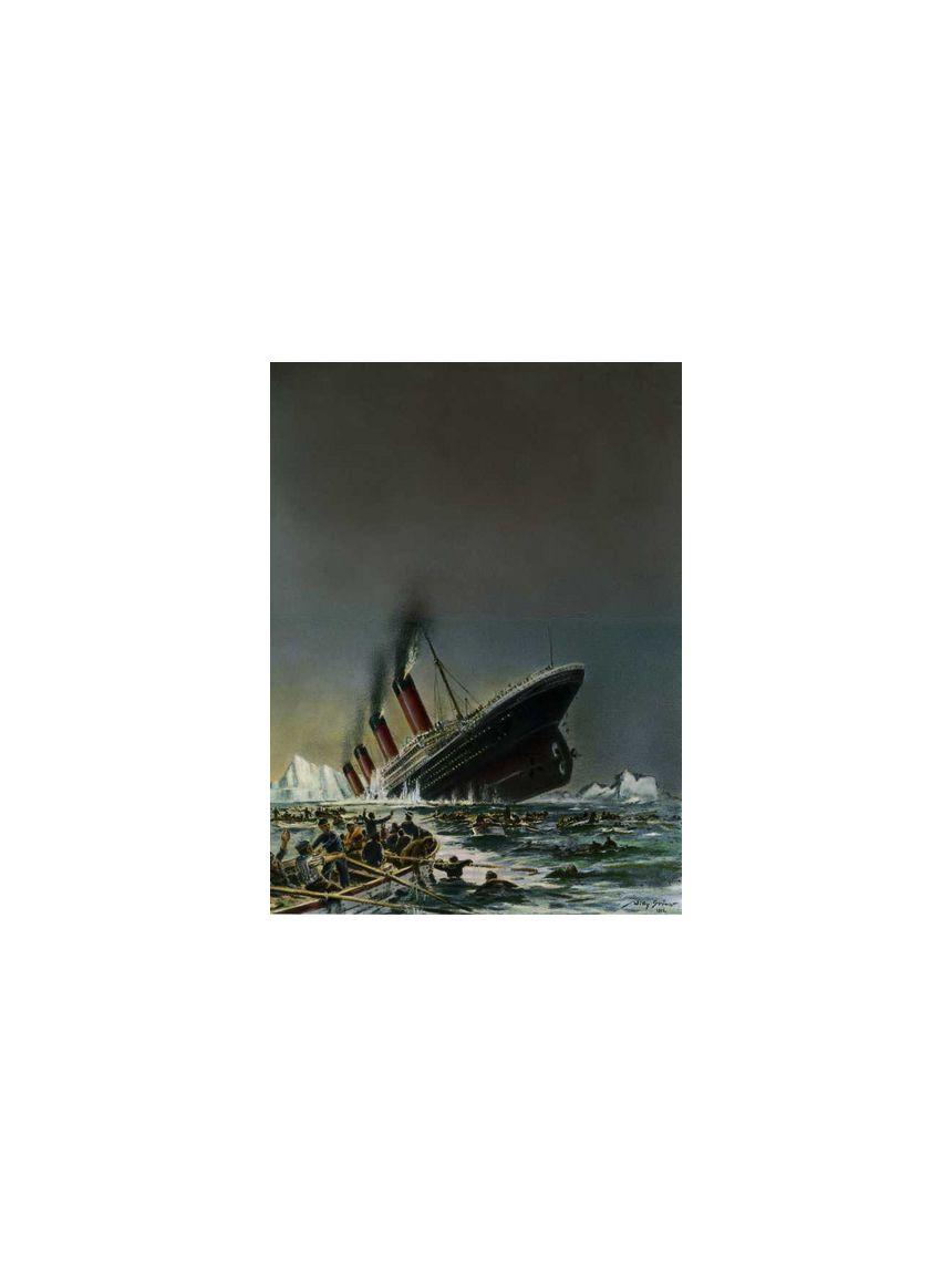 """NUR FÜR EINESTAGES - Untergang der """"Titanic"""""""