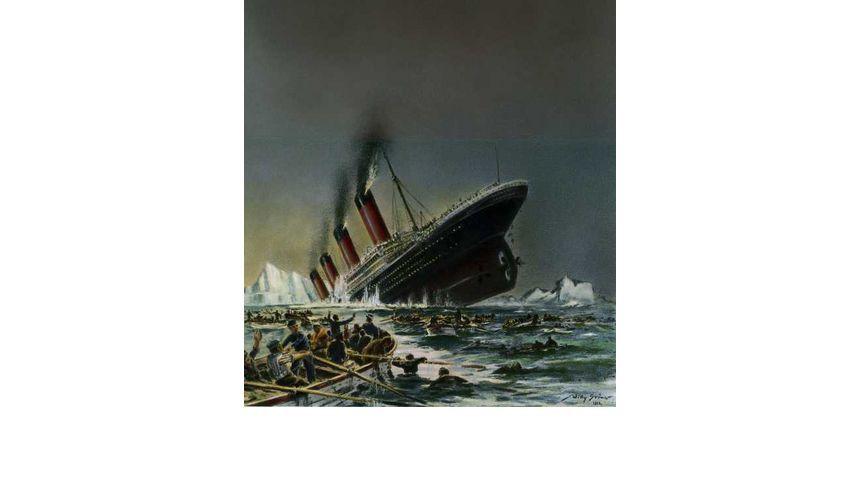 Man hielt den Luxusdampfer für unsinkbar, aber nicht für sehr lange. Auf seiner Jungfernfahrt rammte er einen Eisberg und sank.