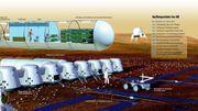 Neue Heimat auf dem Mars